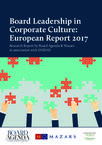 Board Leadership in Corporate Culture Report
