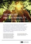 Technology and sustainability five innovations